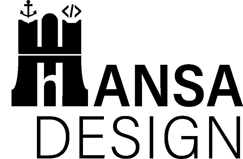 Hansa Design Logo _ schwarz